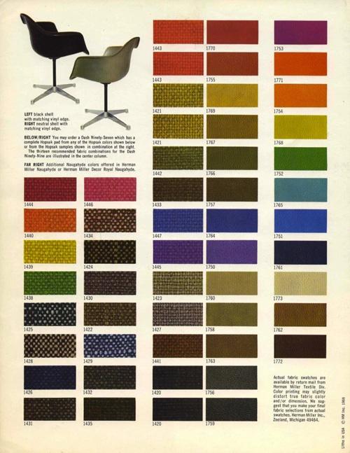 Eames chair palette