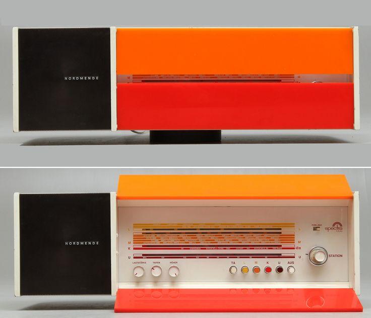 Raymond Lowey, radio, 1968