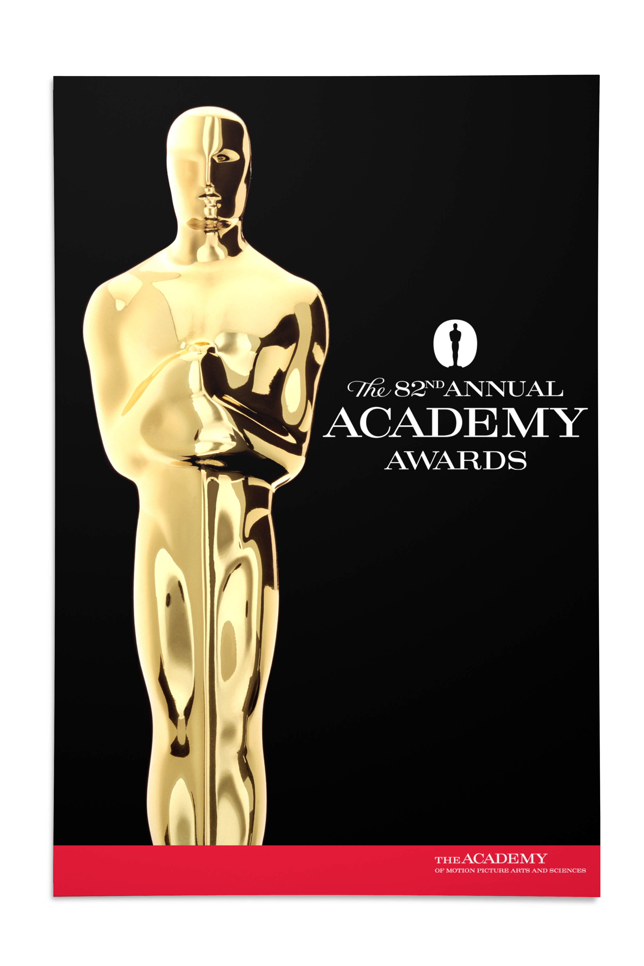 82nd Annual Academy Awards Poster