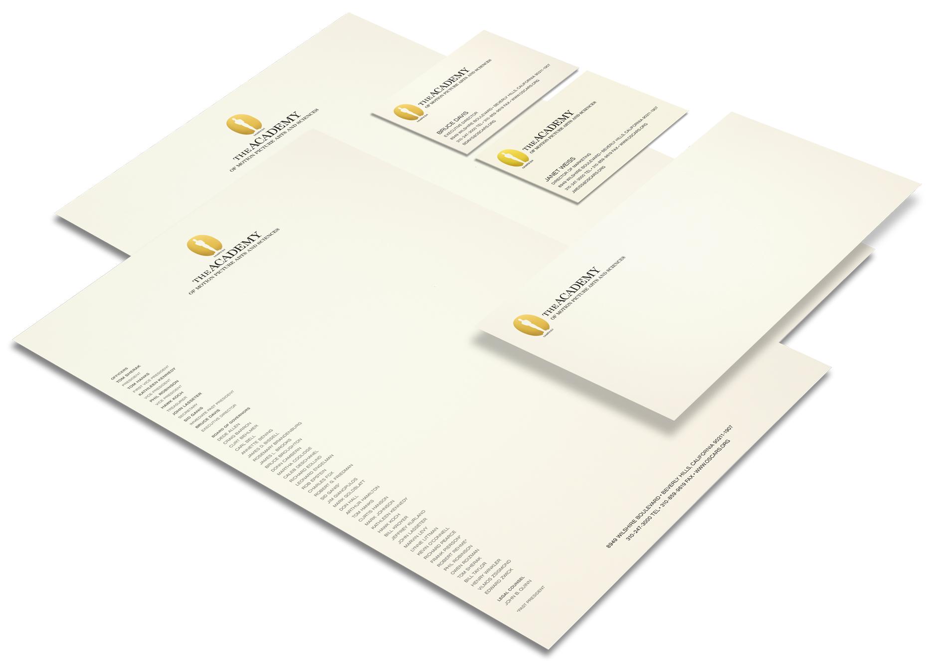 AMPAS Stationery System