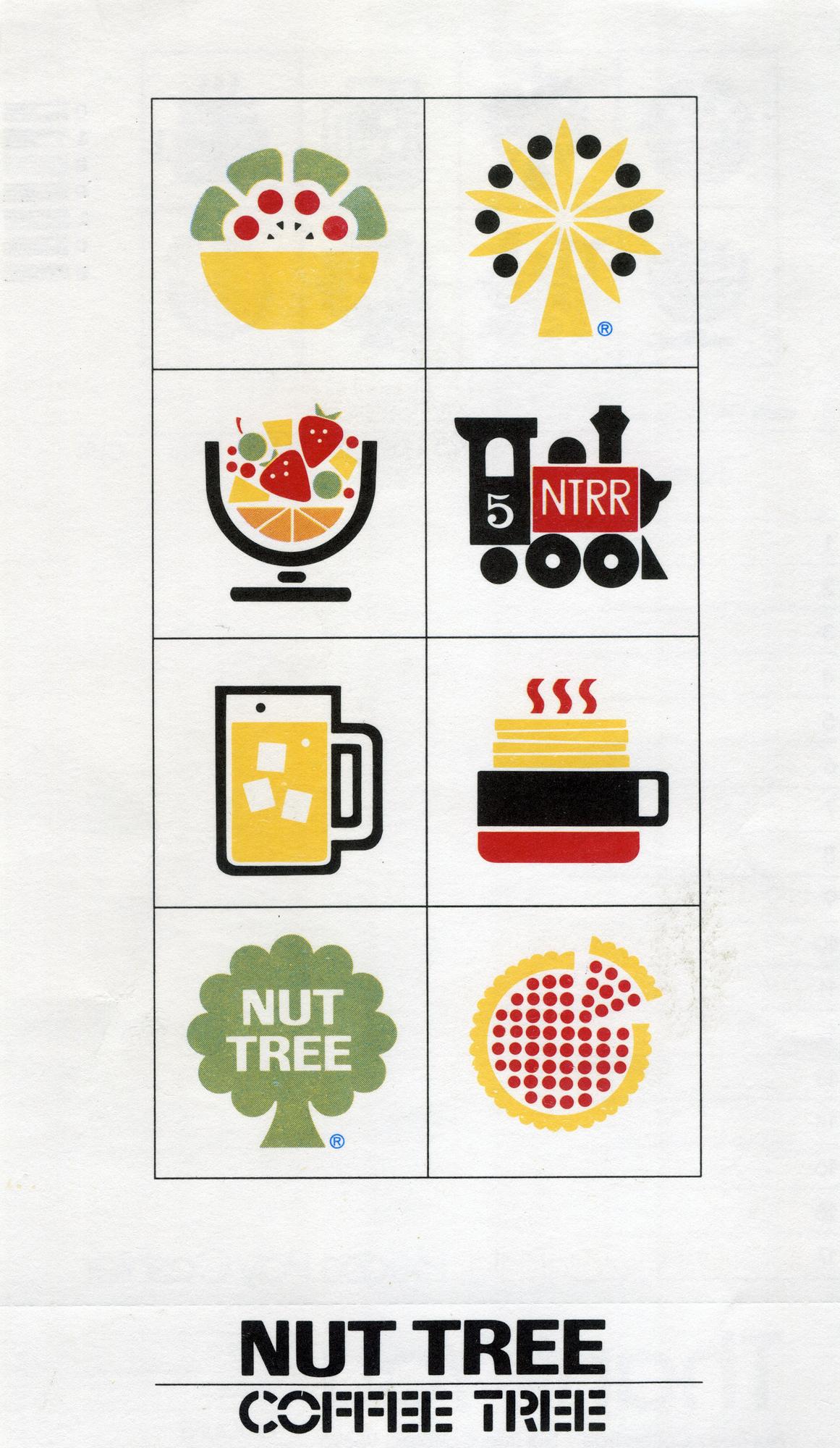 Don Birrell, Nut Tree restaurant receipt