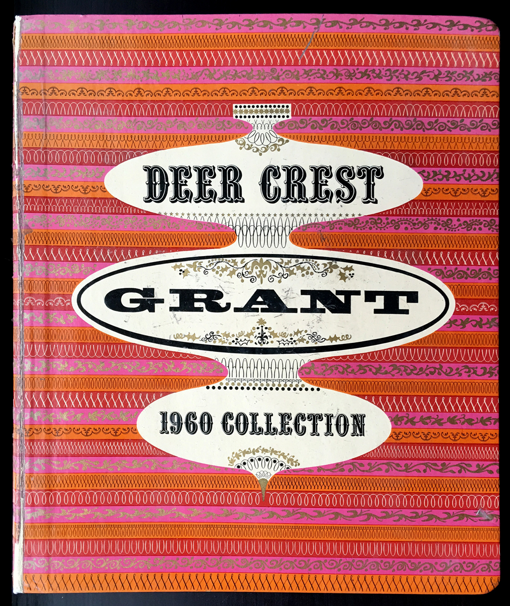 Deer Crest Card catalogue