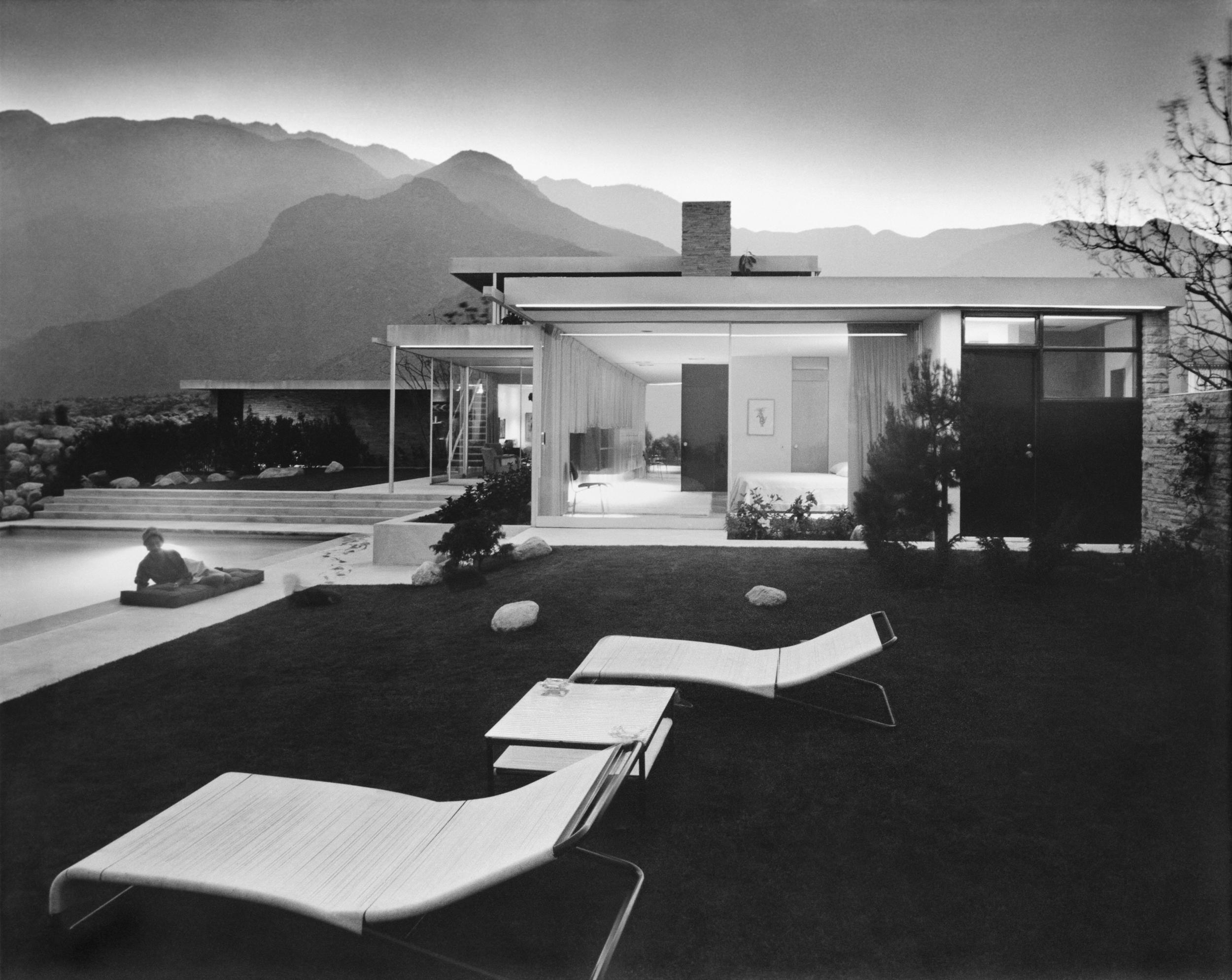 Richard Neutra, Kaufmann House, Julius Shulman photographer