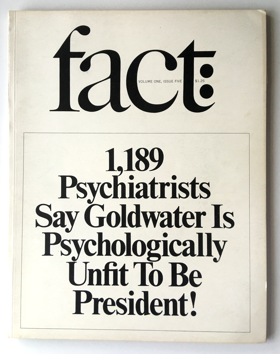 Herb Lubalin, fact:, 1964