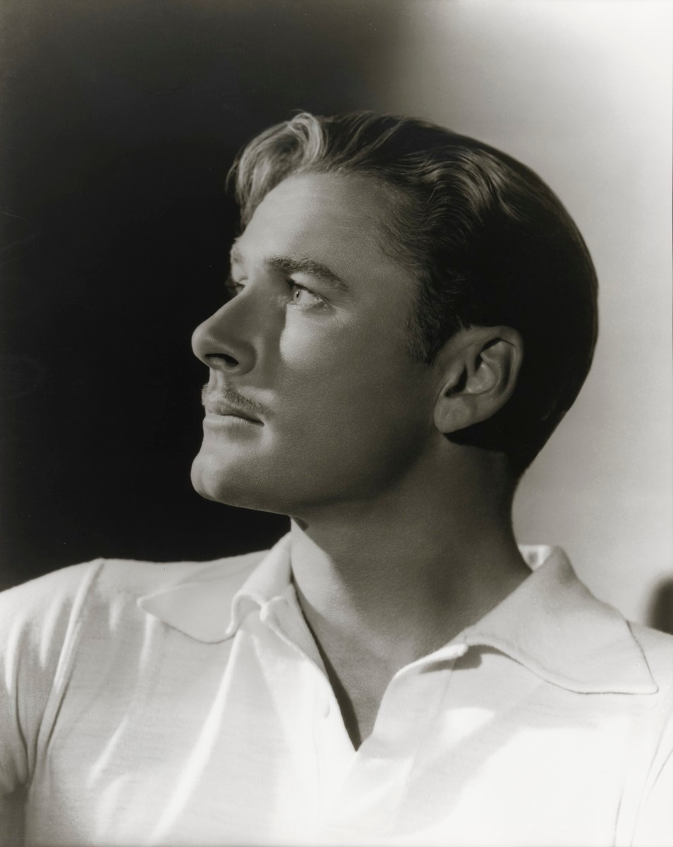 George Hurrell, Errol Flynn