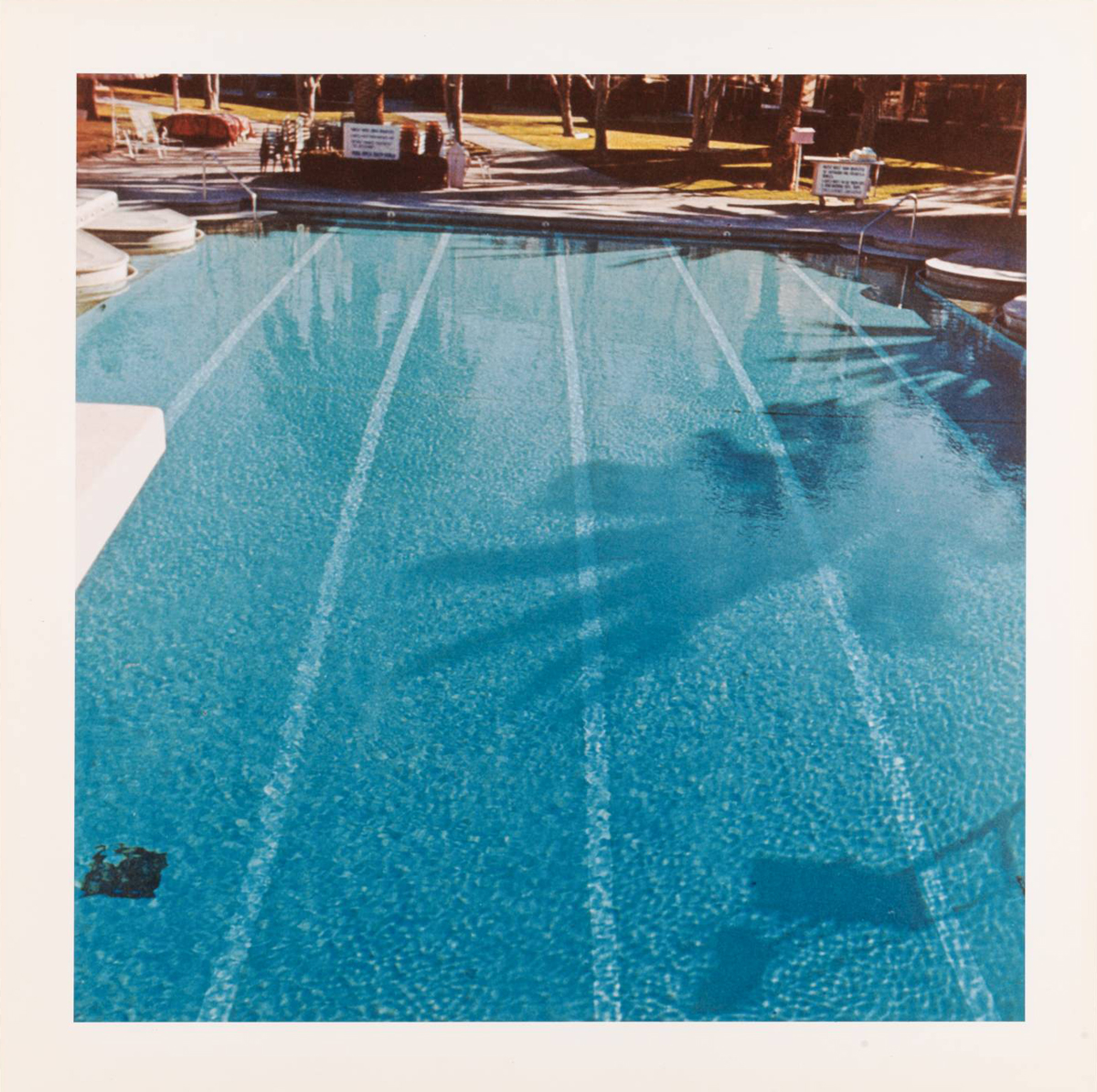 Ed Ruscha,  Nine Swimming Pools and a Broken Glass,  1968