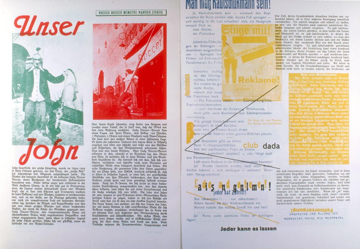Dada Anthology, 1920