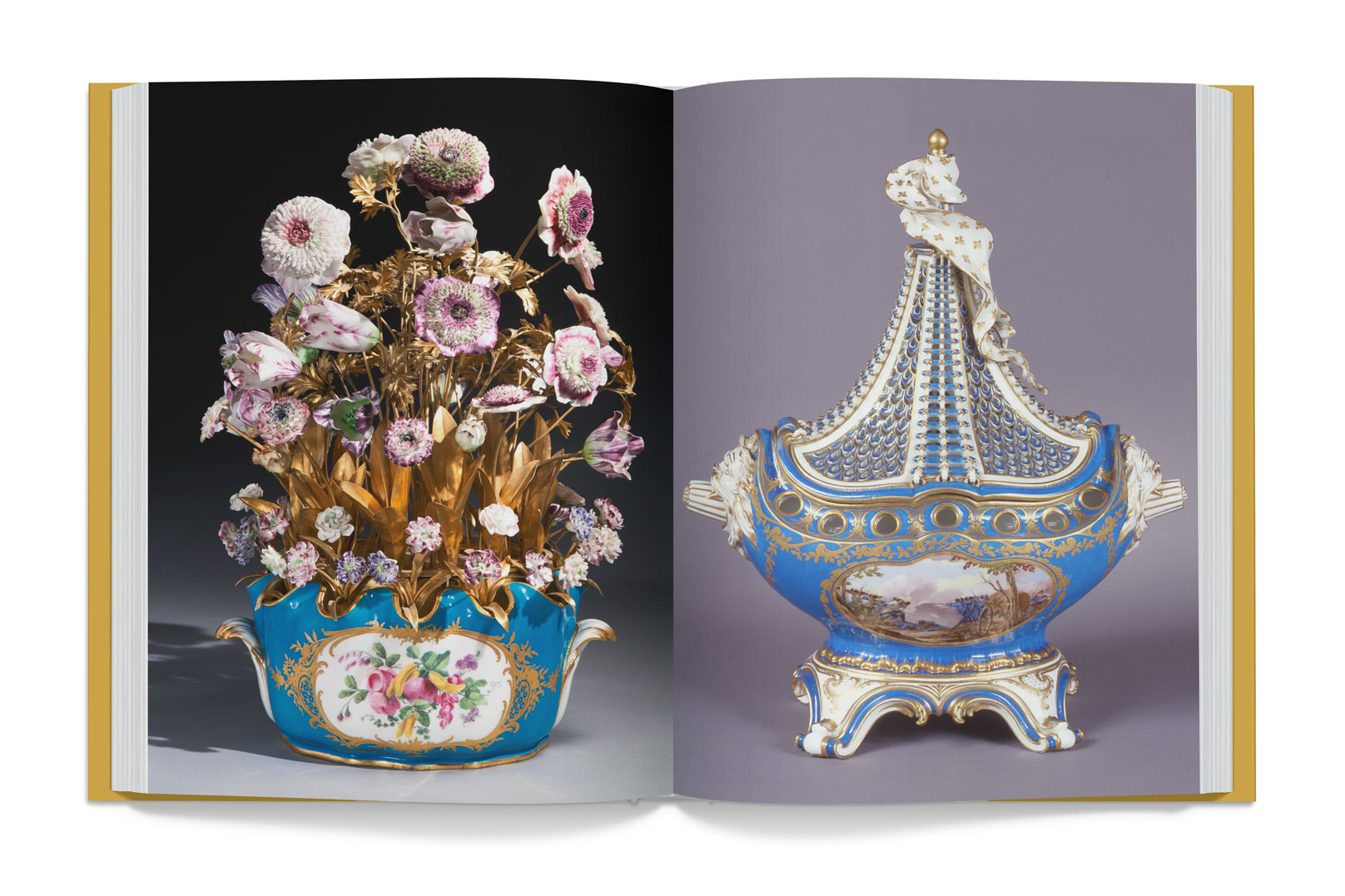 Vincennes and Sevres Porcelain in the Collections of the J. Paul Getty Museum