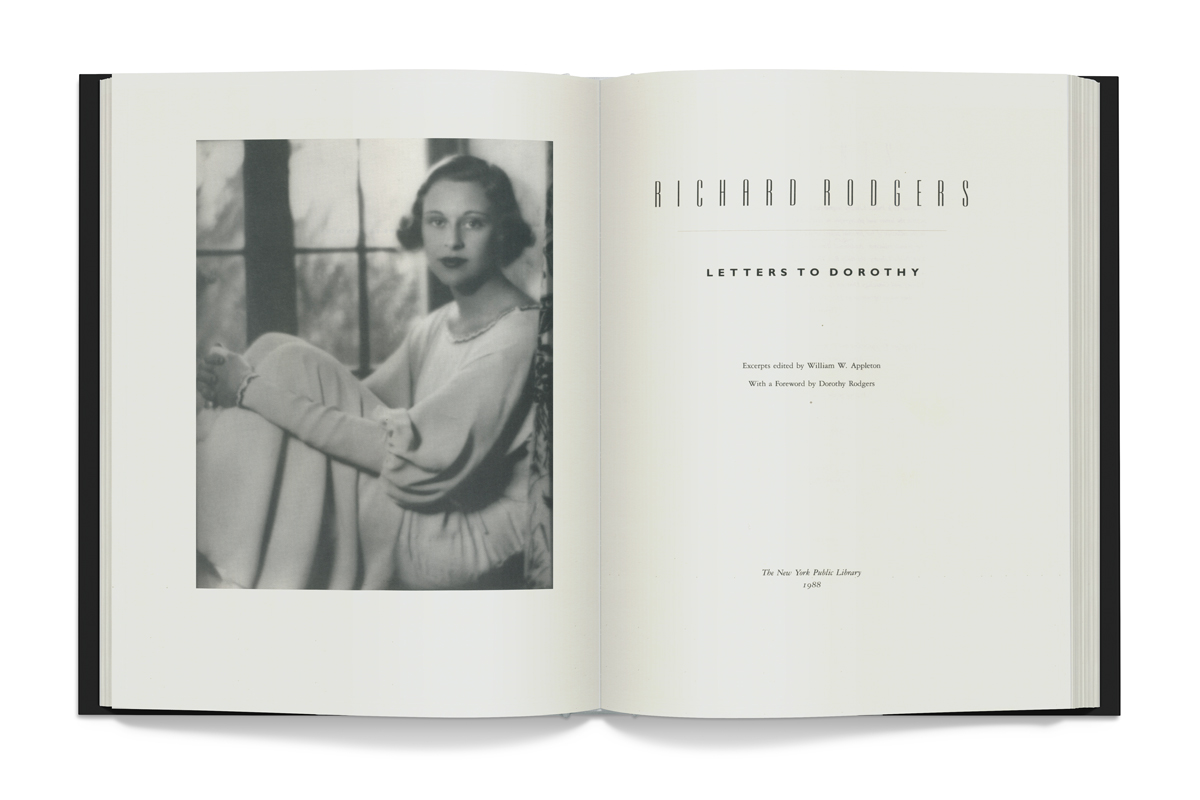 Richard Rodgers: Letters to Dorothy