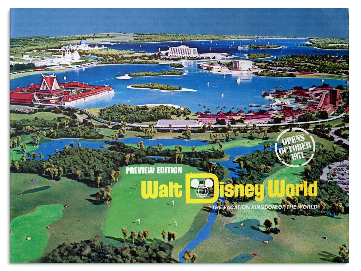 Walt Disney World Preview, 1970
