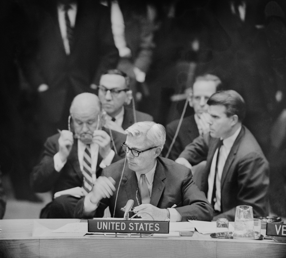 Sean  and or  Adlai Stevenson, United Nations, 1962