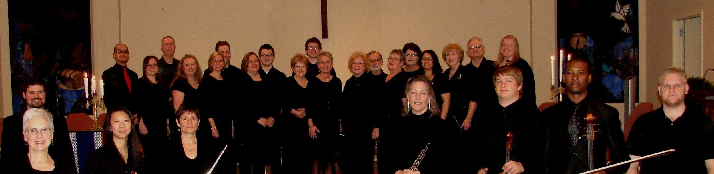Trinity Presbyterian Choir in Bixby Christmas Program 2013