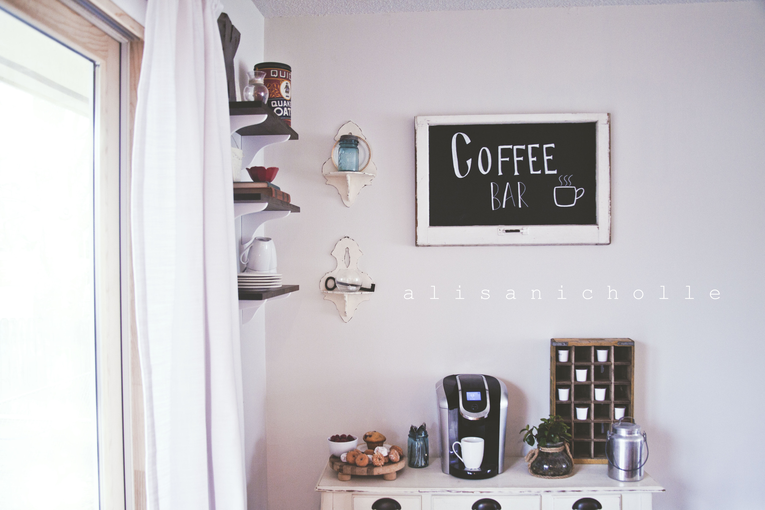 The coffee bar...no words needed.