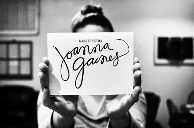 letter from Joanna Gaines