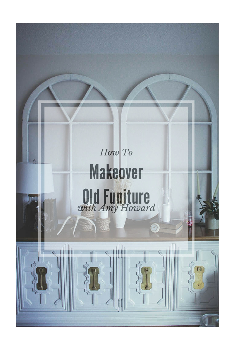 How To Makeover Old Furniture With Amy Howard Chalk Paint