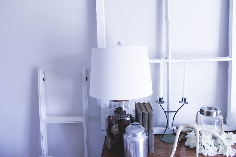 Fill-able Table Lamp: Home Goods