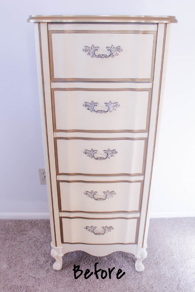 DIY Vintage Dresser Makeover - Amy Howard Chalk Paint