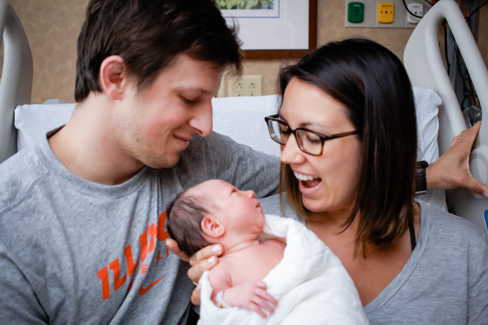 Our First Day With Eliza Joy