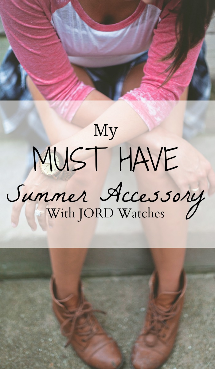 My Must Have Summer Accessory With JORD Watches