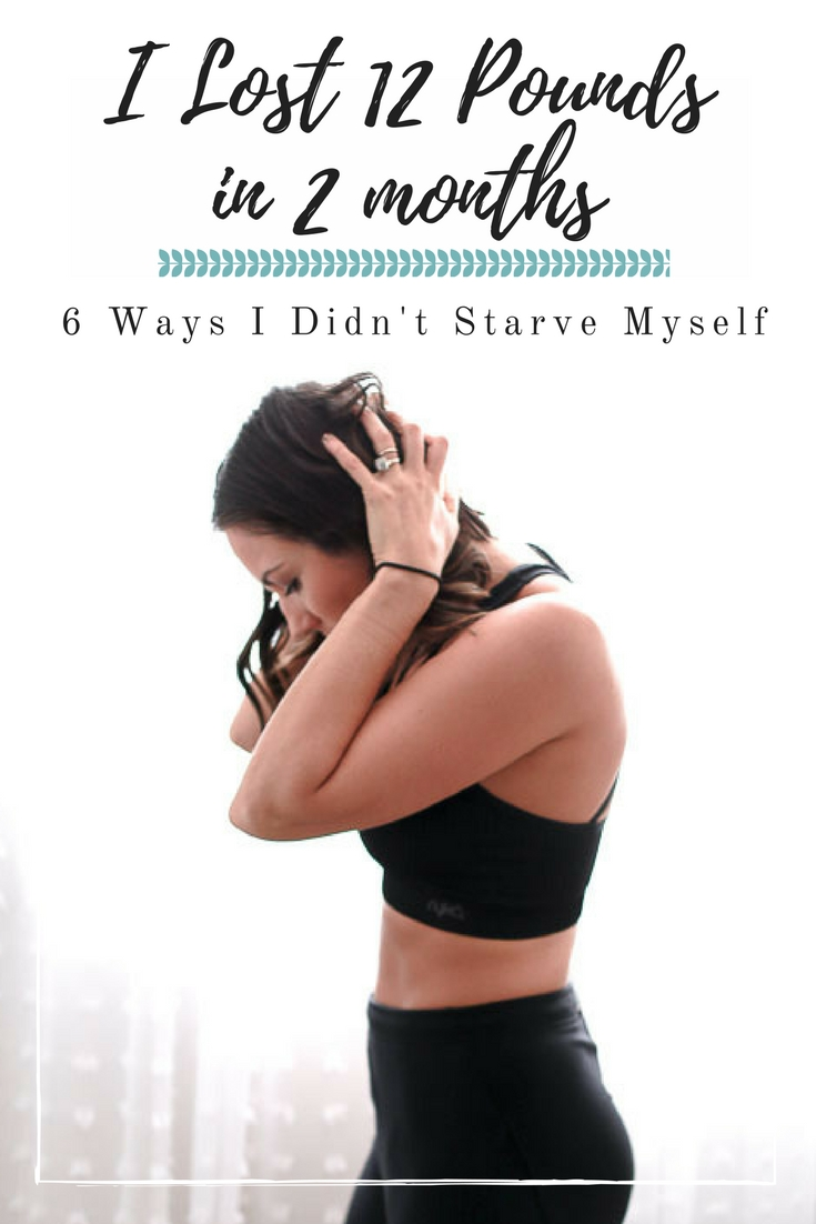 I've Lost 12 Lbs In 2 Months: 6 Ways I Did It Without Starving Myself