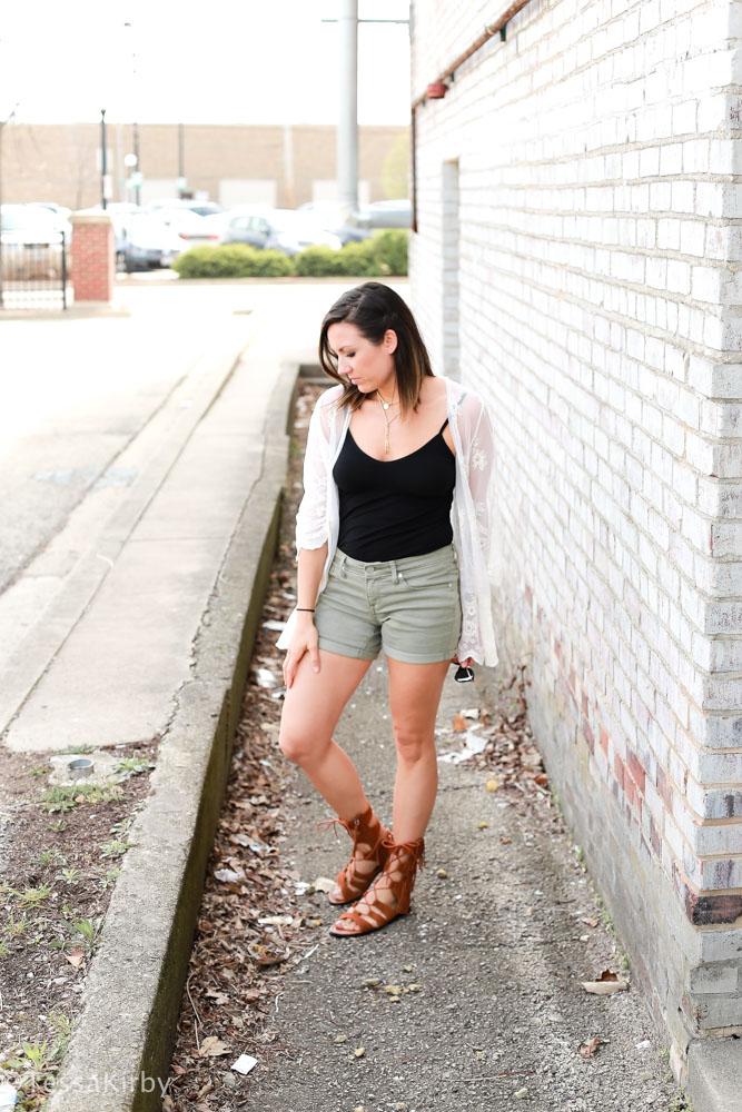 Off The Shoulder Tops, Gladiator Sandals, & Boyfriend Jeans