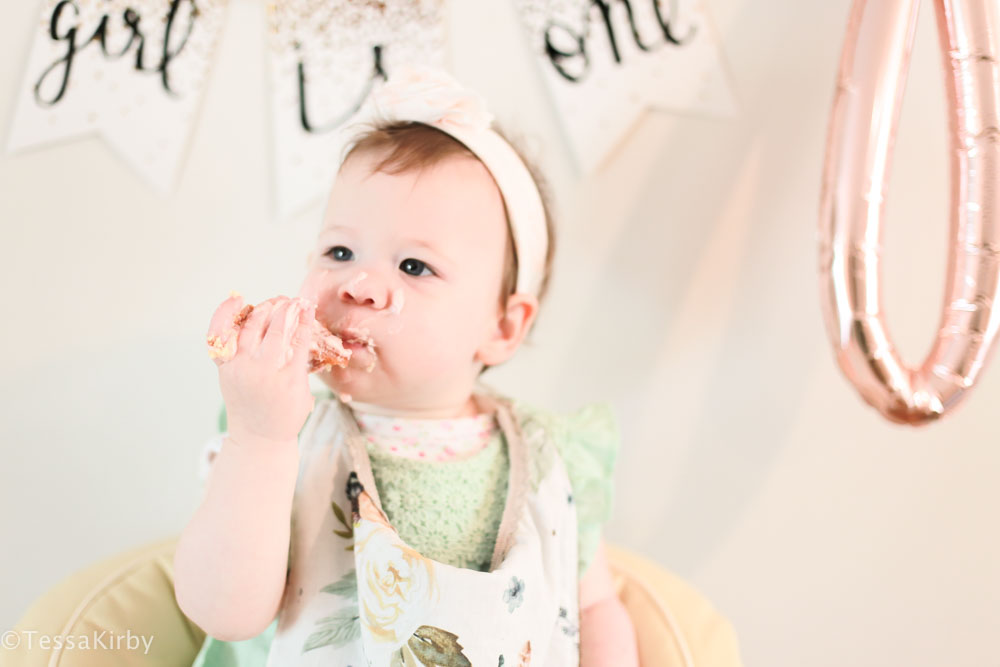Eliza's 1st Birthday: Party Details & Decor