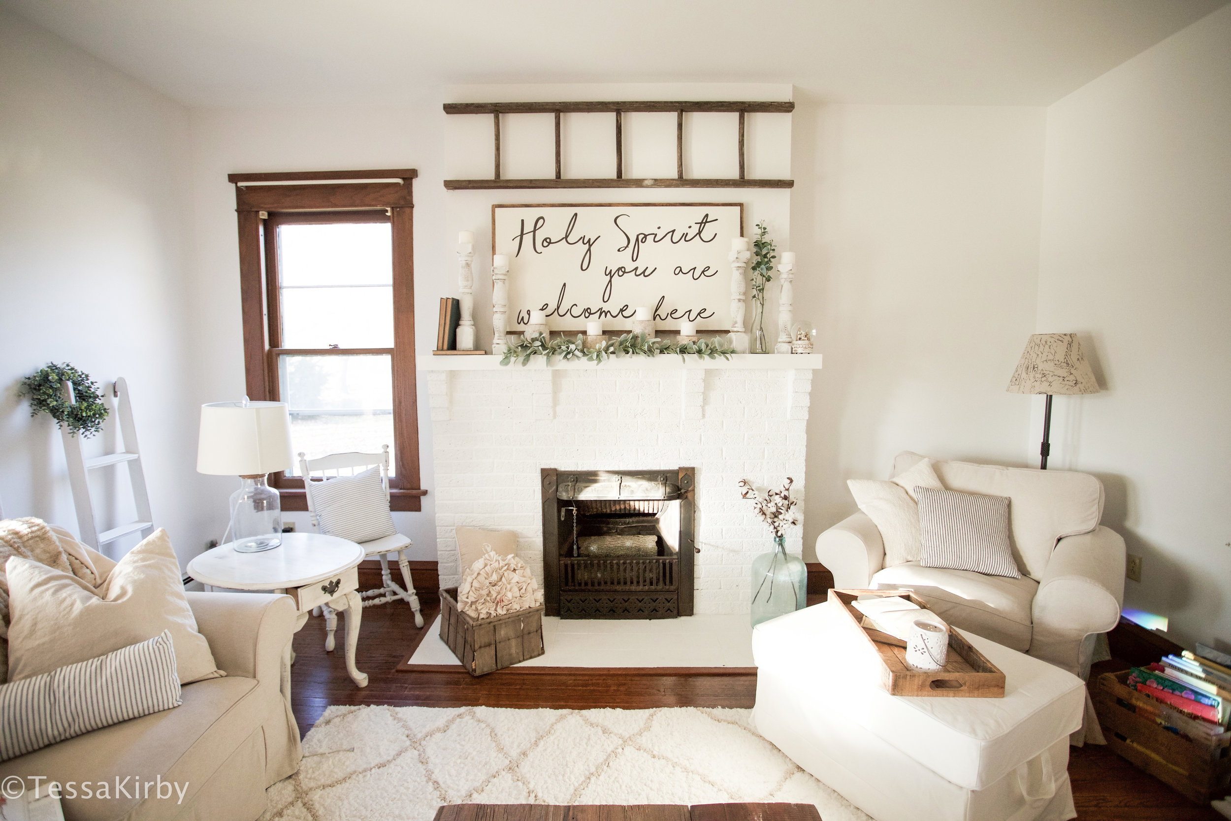 Farmhouse Living Room Reveal