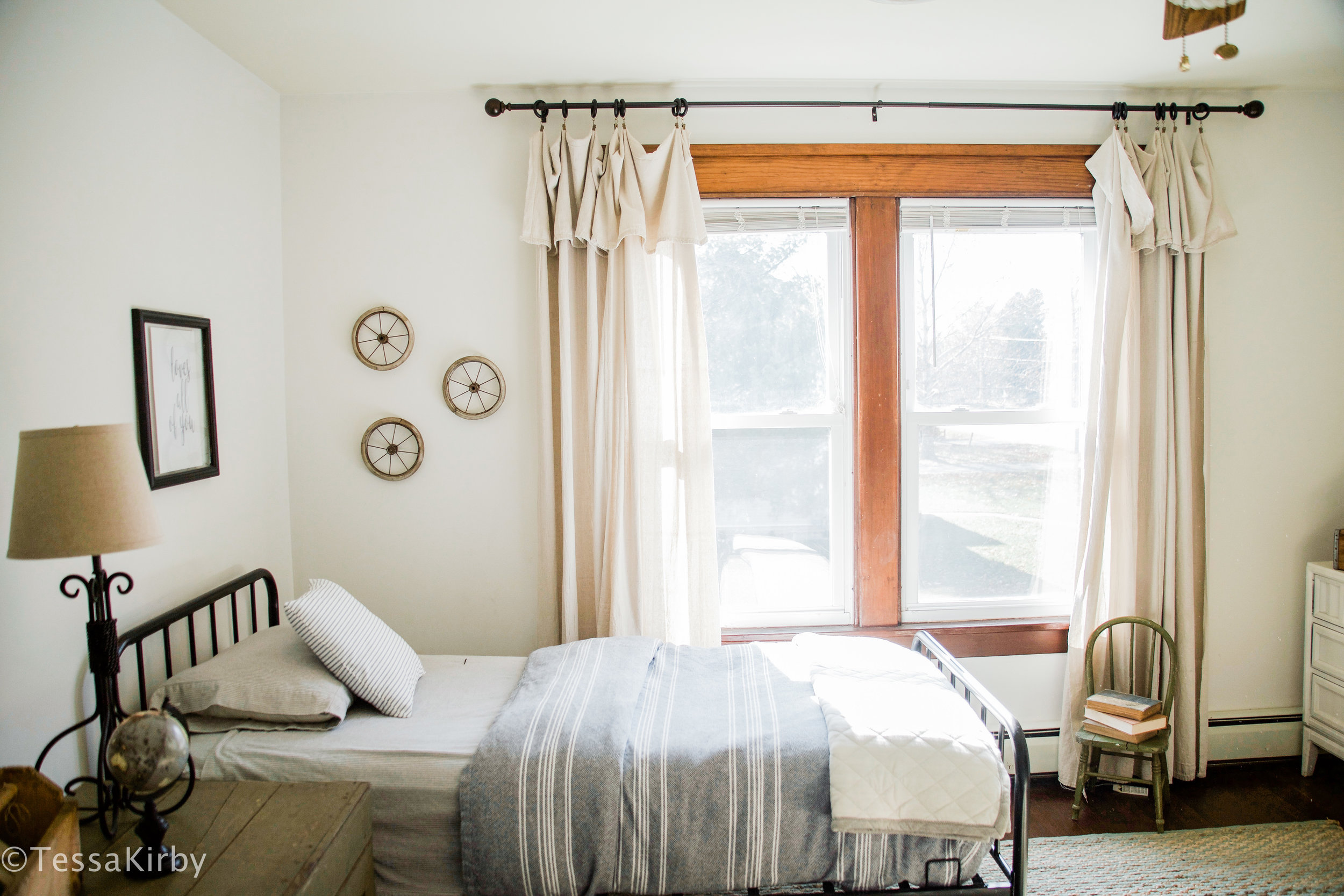 Farmhouse Kids Room Reveal - Click Here To See More...