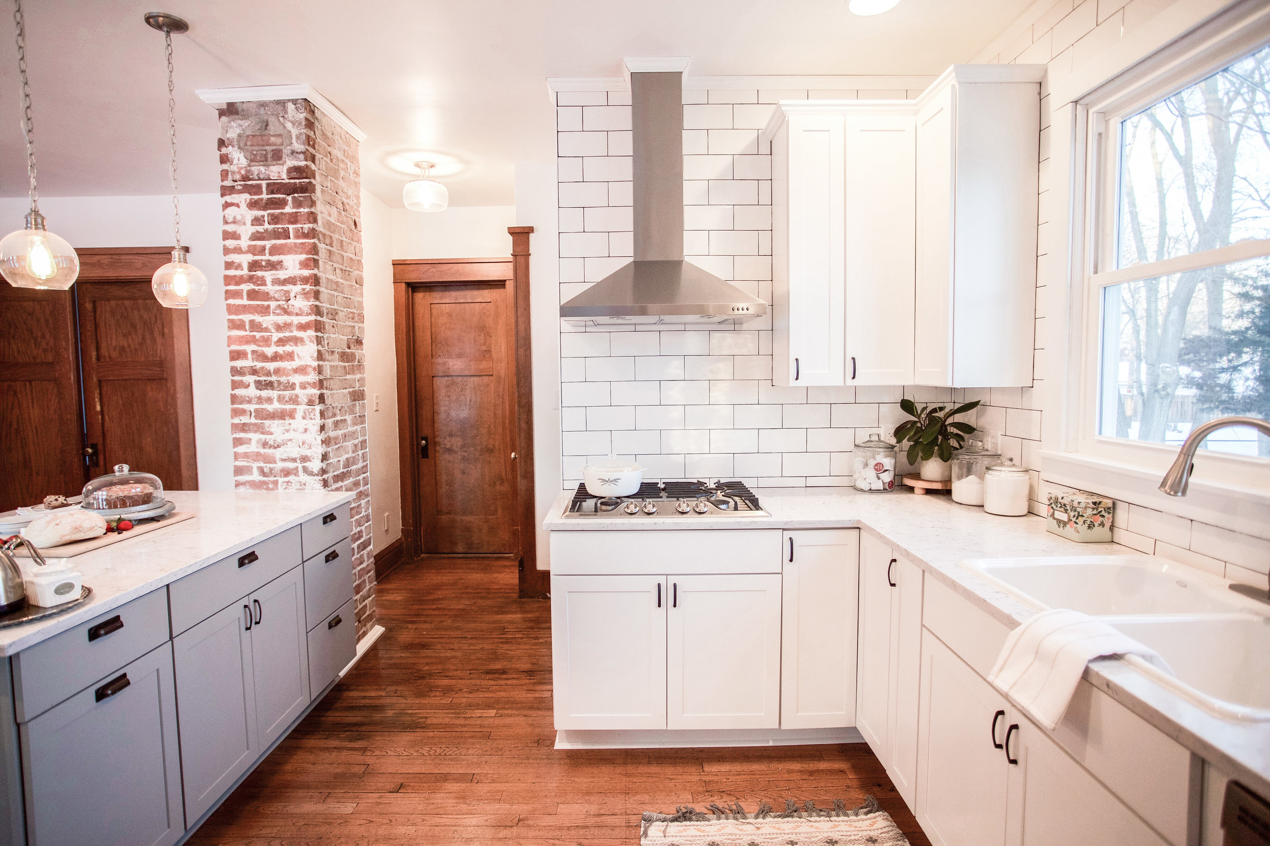 Our Restored Farmhouse Kitchen Reveal