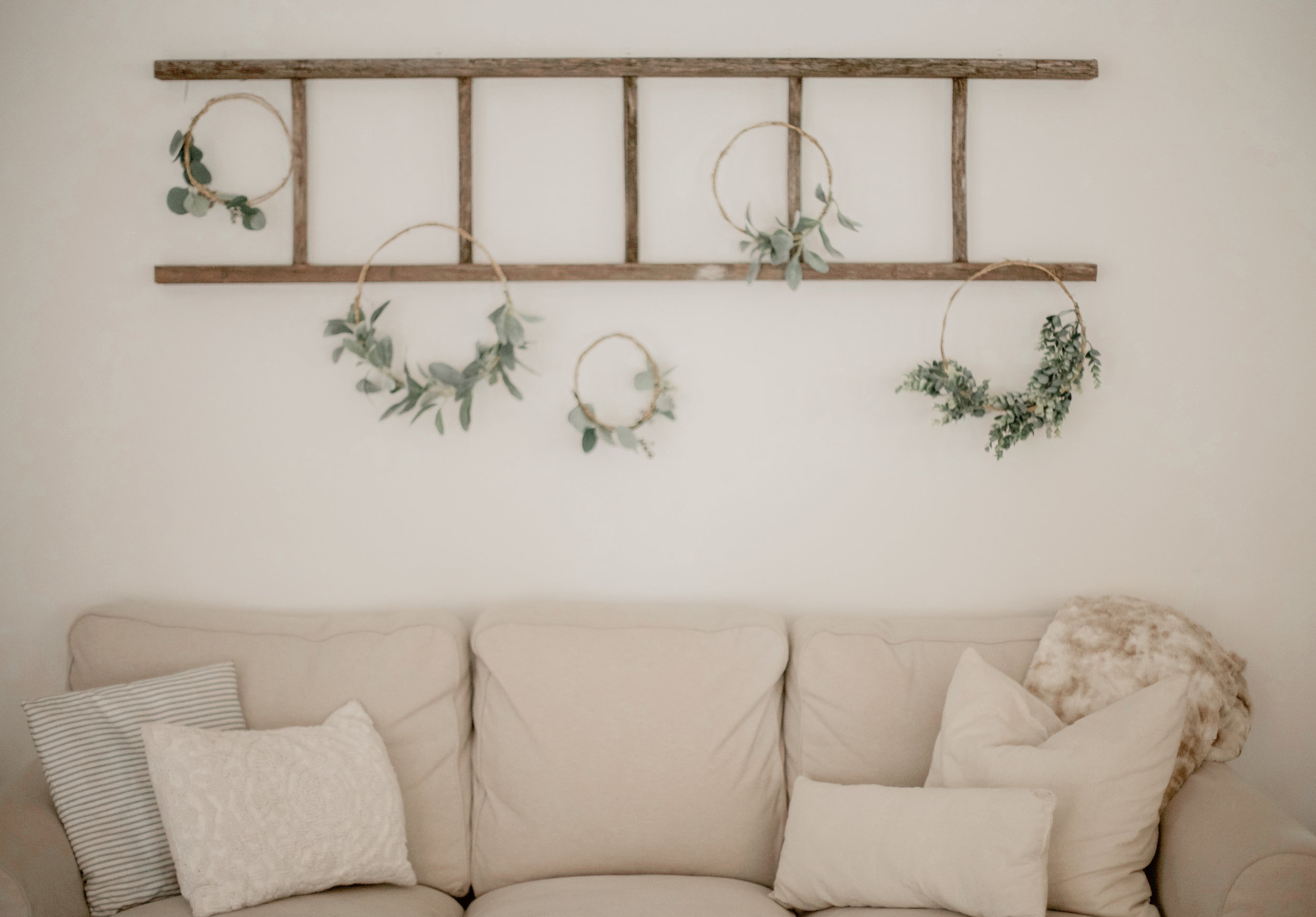 DIY Hoop Wreath Project