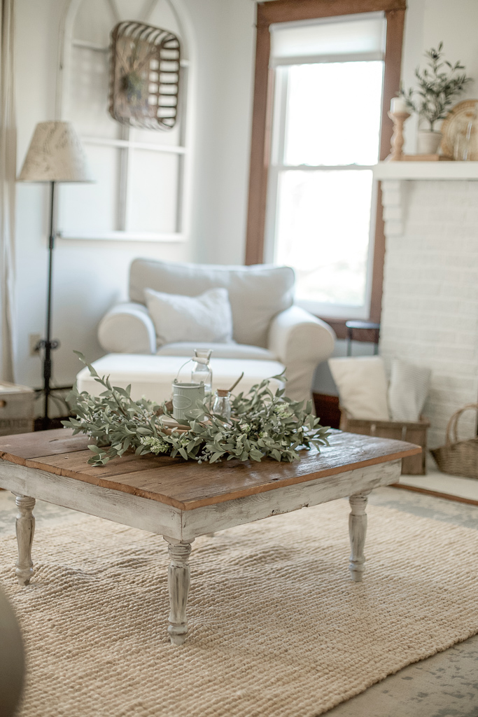 Spring Living Room Refresh With Prairie Gardens