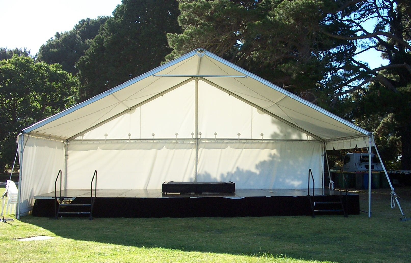 Need a stage to spruik your message?