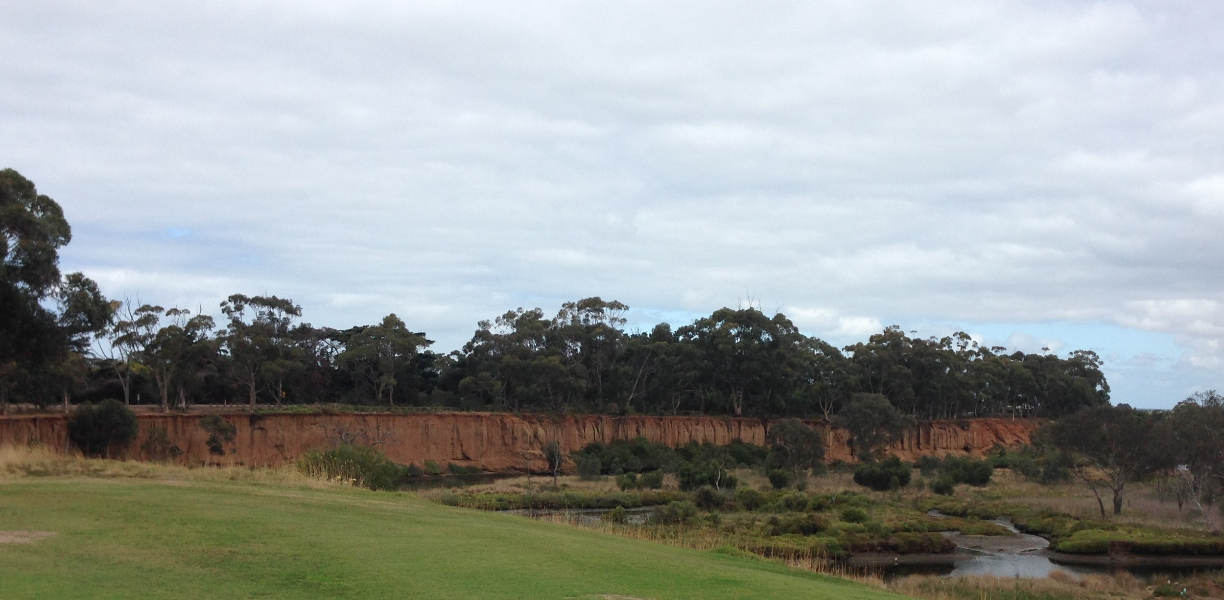 The iconic Red Cliffs of Wyndham....