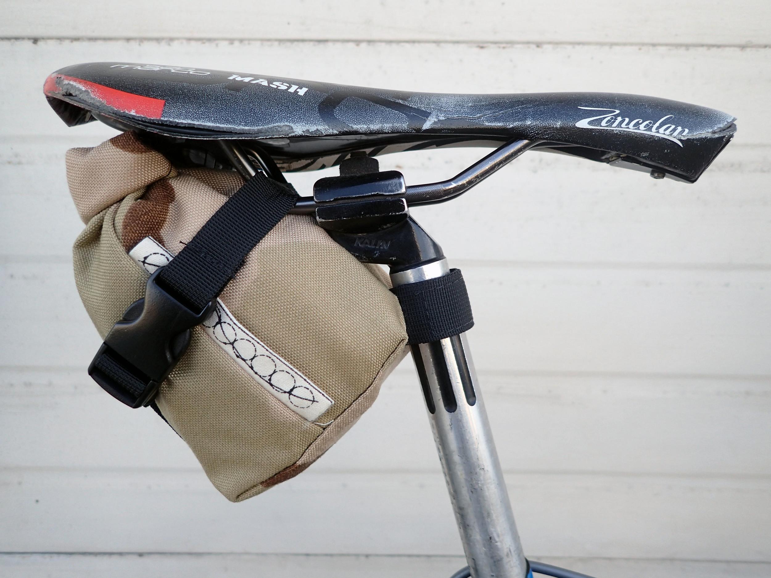 Attach seatpost strap!