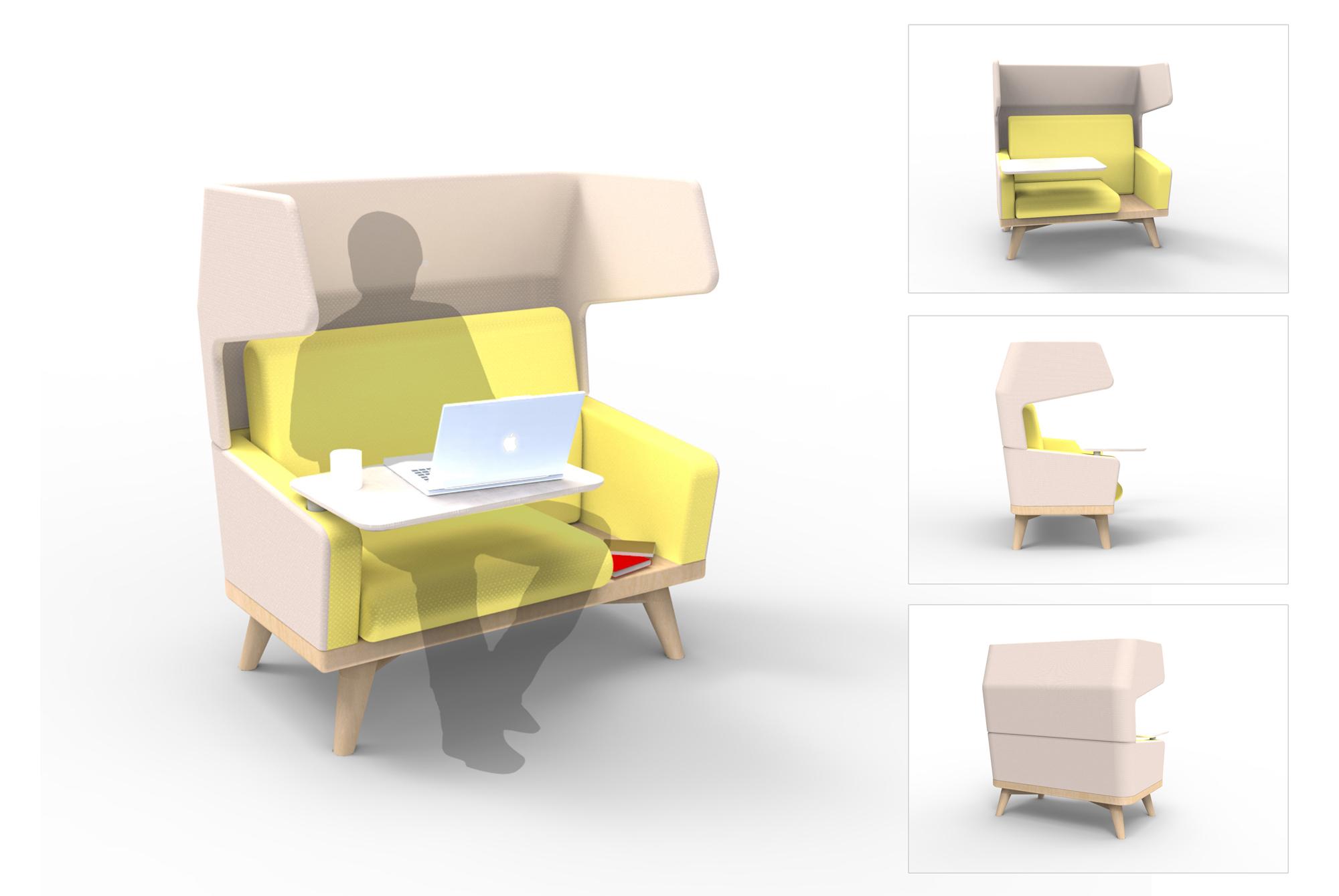 Initial 3D rendering