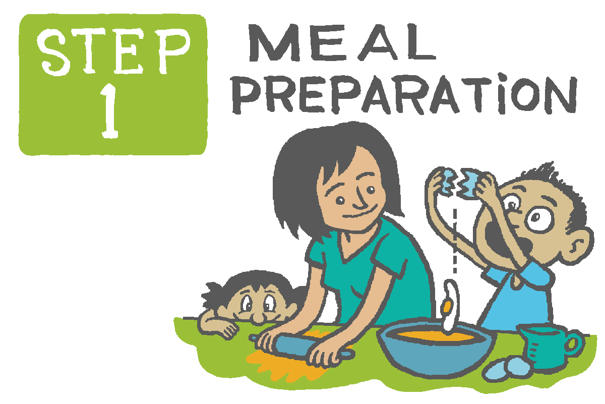 Meal Time Family Time Illustration, 2015  City of Lethbridge