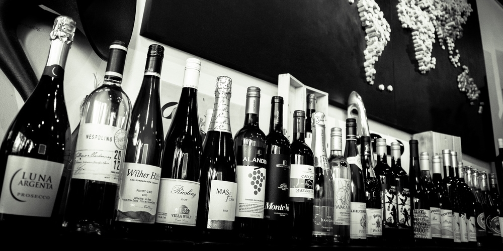 Curated wines from around the world.