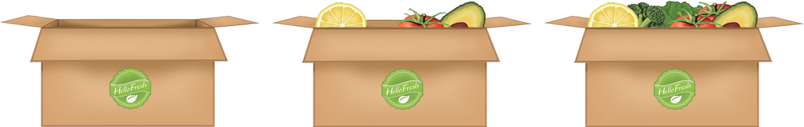 As you catch more fruit, your box begins to fill up!