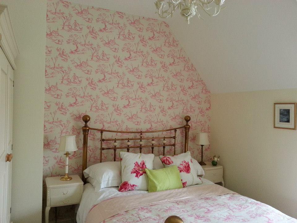 Bedroom decoration in Hannington, Wiltshire