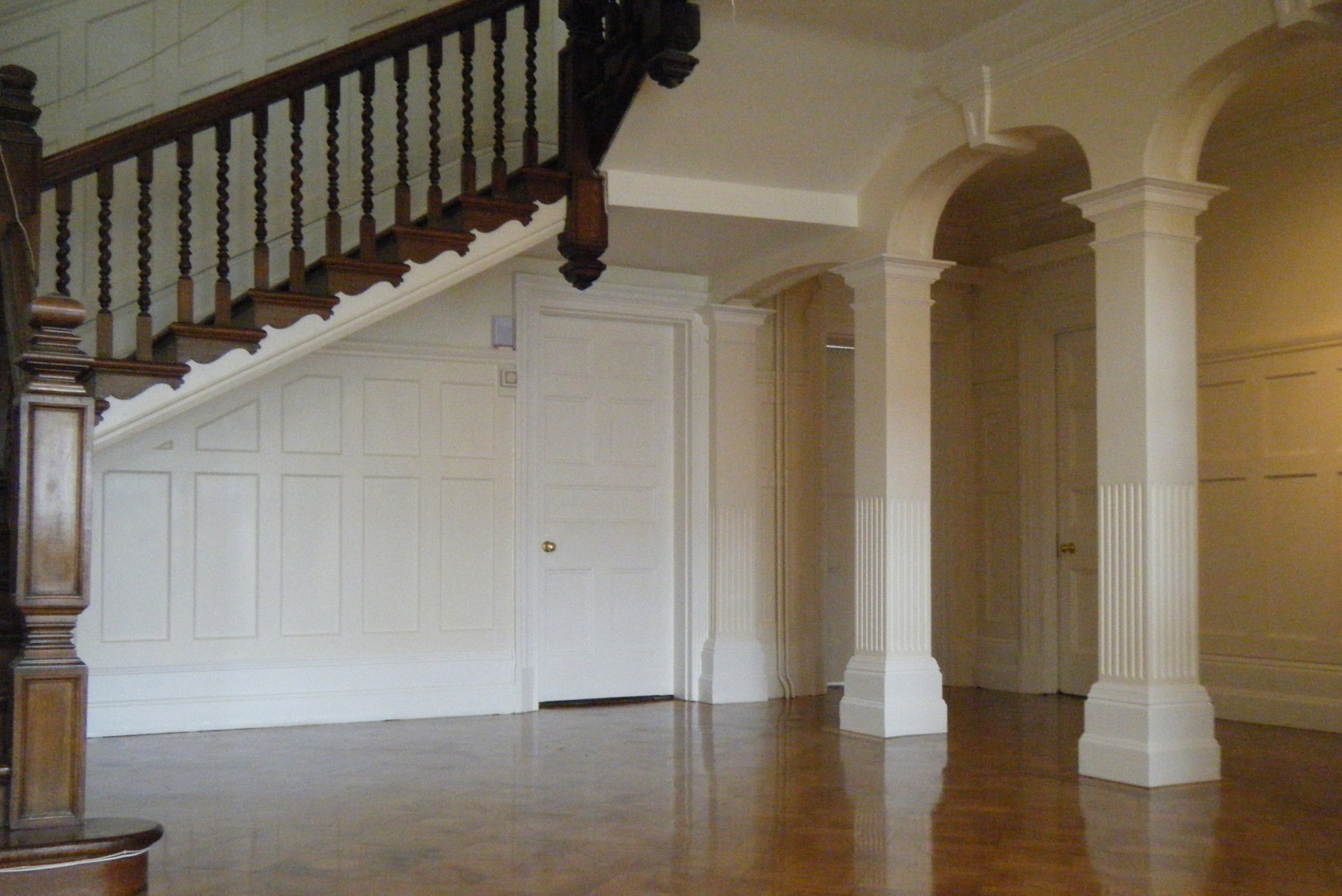 Hall, stairs & landing painted in Hungerford, Wiltshire