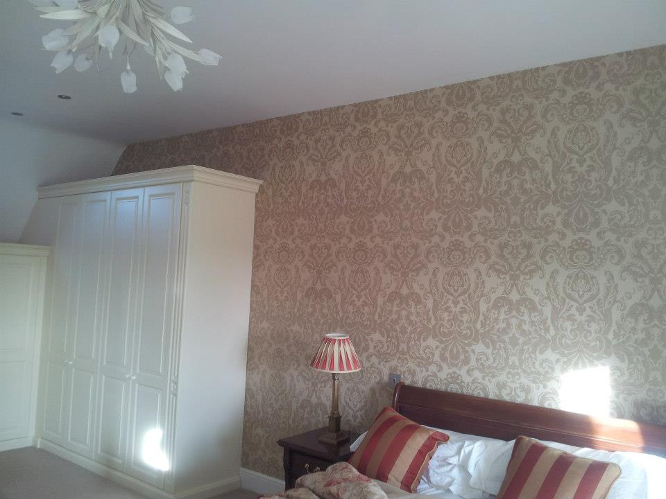painting and wallpapering completed in Hannington, Wiltshire