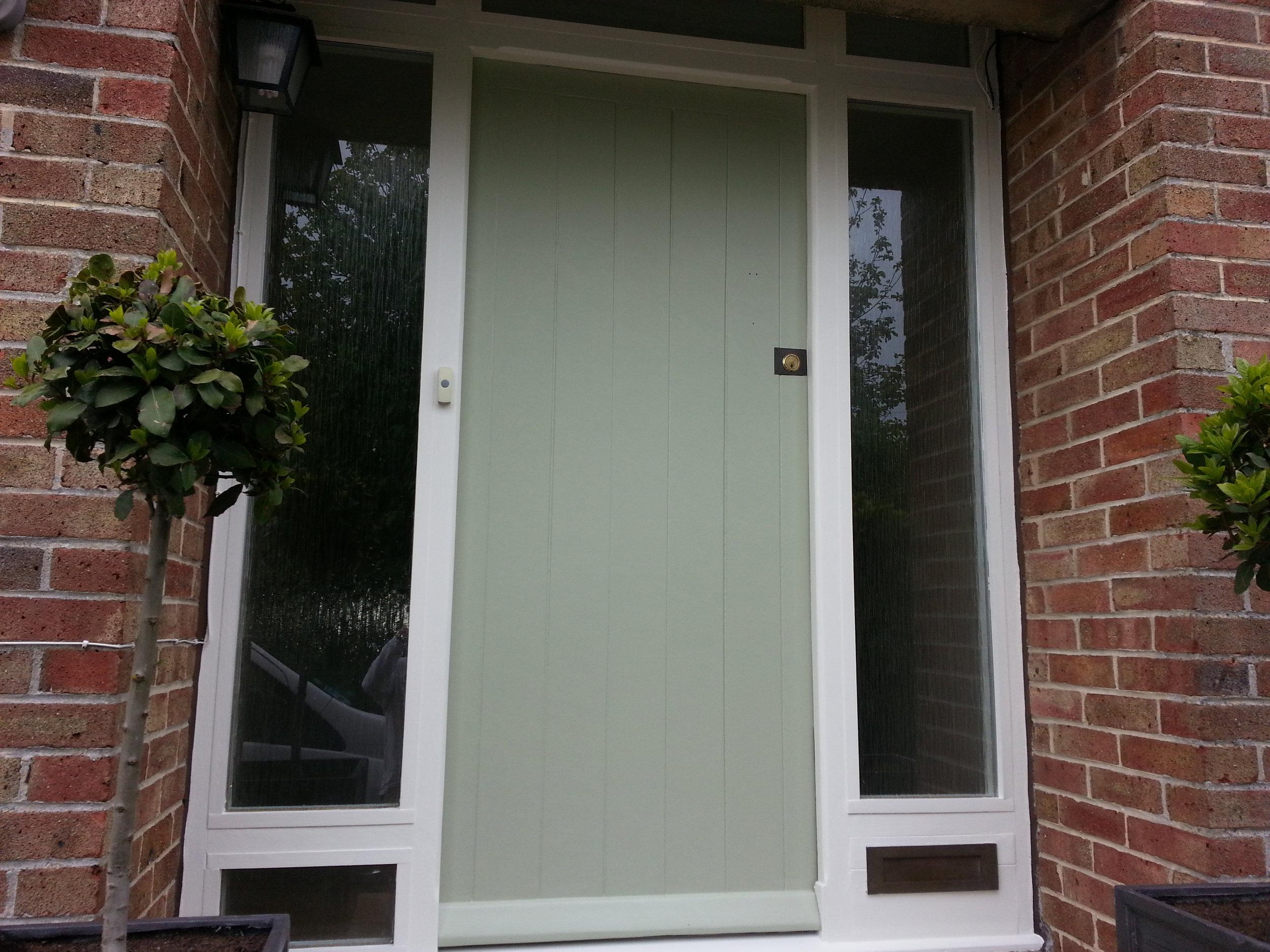 Exterior front door decoration in Royal Wootton Bassett, Swindon, Wiltshire