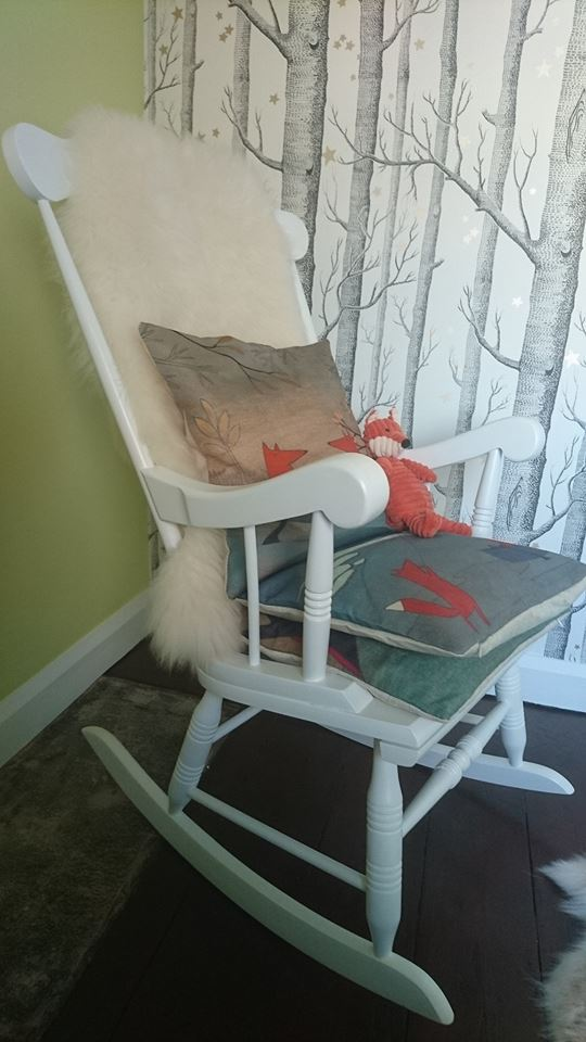 hand painted rocking chair in Swindon, Wiltshire