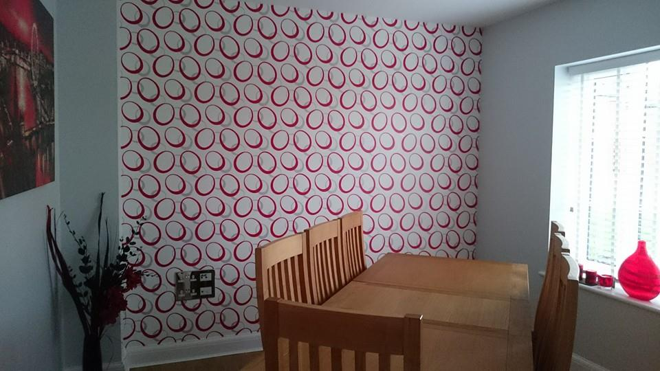 painting and wallpapering completed in Wanborough, Wiltshire