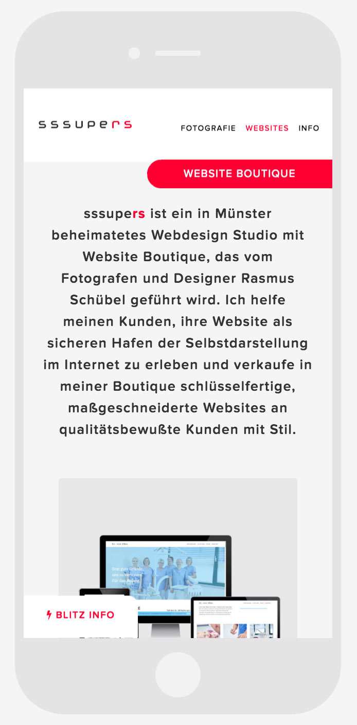 WEBSITE AGENTUR MÜNSTER