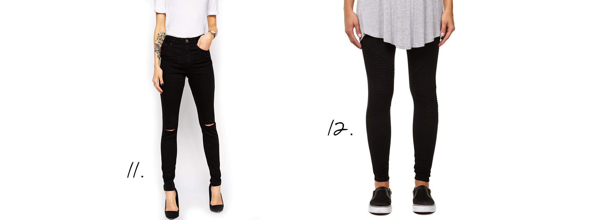 Ridley Skinny Jeans Cotton on Dakota Knee Detail Leggings