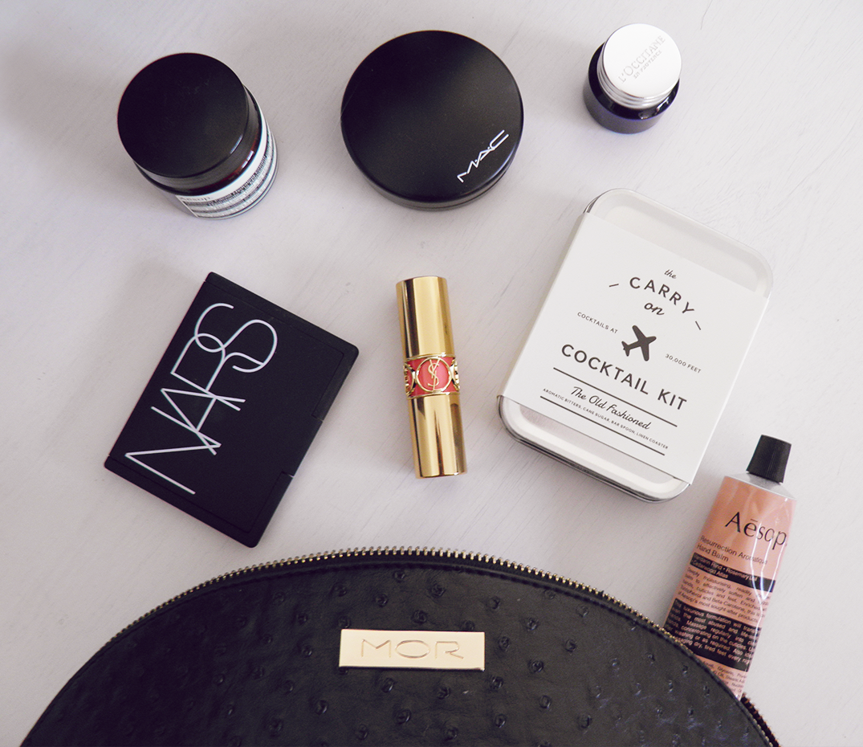 Makeup kit for flights
