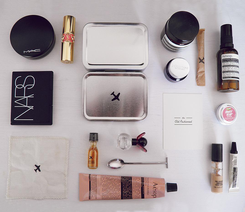 Inflight makeup kit