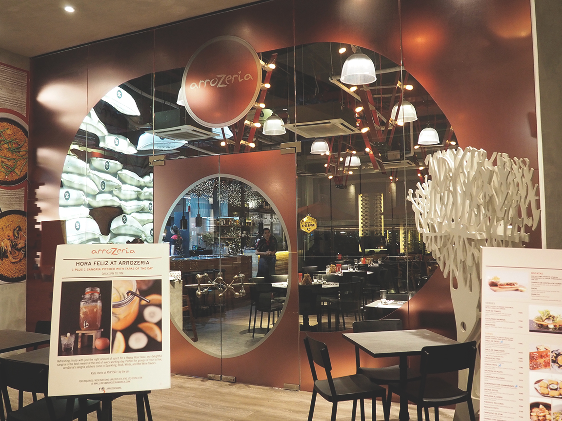 Arrozeria - Century City Mall Review - Entrance