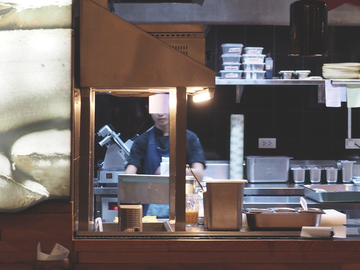 Arrozeria - Century City Mall Review - Kitchen